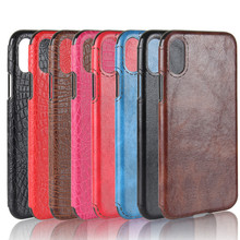 Luxury Crazy Horse Crocodile Pattern Leather Back Flexible TPU Gel Bumper Cover Hybrid Protective Phone Case For iPhone <strong>X</strong> <strong>10</strong>
