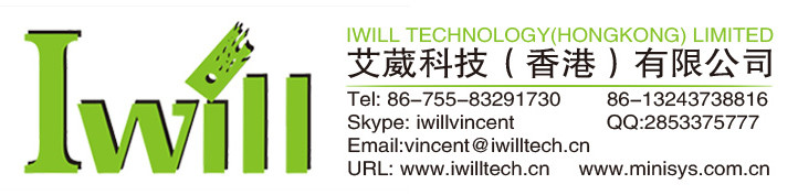 IWILL Core i5 4200U Thin itx embedded motherboard support core i3 i5 i7