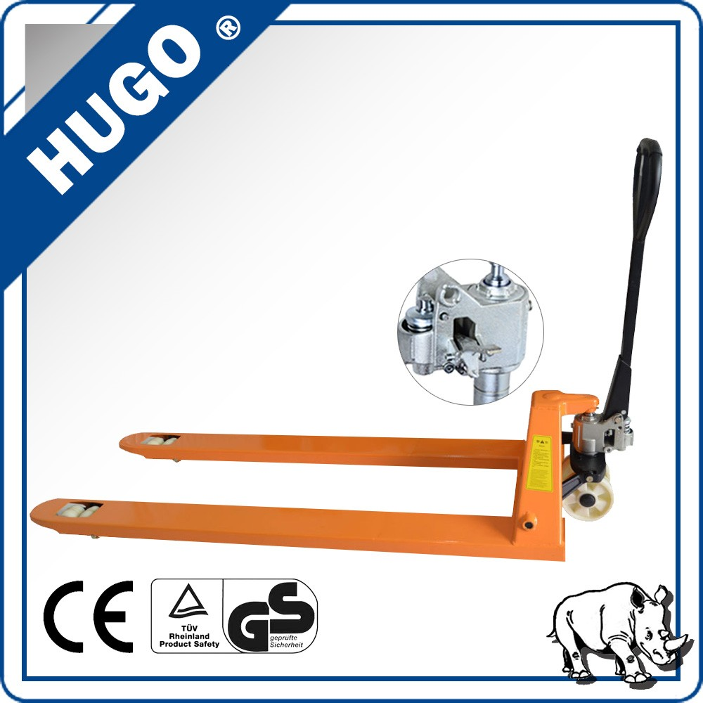 high quality hand pallet truck trolley warehouse forklift pu wheels