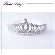Top sale custom design from China wedding hair crown
