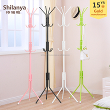 Hot sale cheap colorful metal coat stand hanger