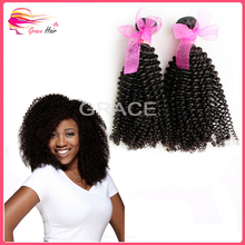Mongolian Kinky Curly Hair Extensions Afro Kinky Human Hair