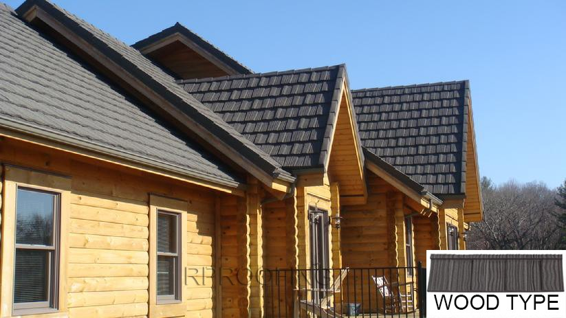 Professional Wood chinese roof tiles,metal roofing sheet with low price