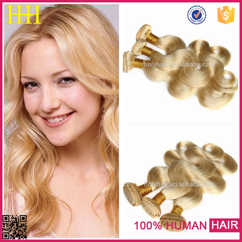 Shipping company fast delivery 613 blonde hair weave braiding,peruvian body wave blonde
