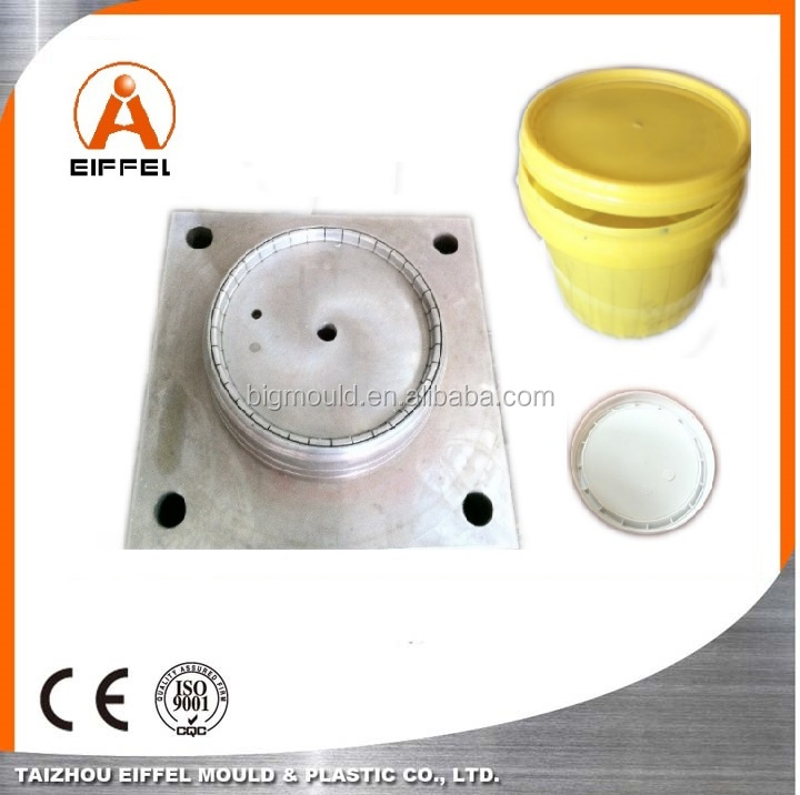 Good-price for 15L Paint Bucket Mold Cap Mold with Copper Insert