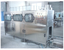 Automatic 5 Gallon barrel mineral water production filling line