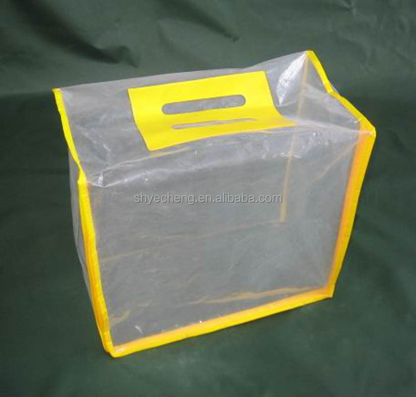 hot sale 100% oxo biodegradable eco clear pvc ice bag