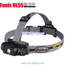 Fenix HL55 Headlamp XM-L2 T6 LED 900Lm Waterproof IPX-8 116m Distance 160 Degree Adjustable Headlight