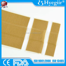 Freely cut elastic fabric adhesive plaster with CE and FDA approval