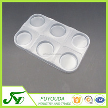 PP white disposable plastic food packaging tray