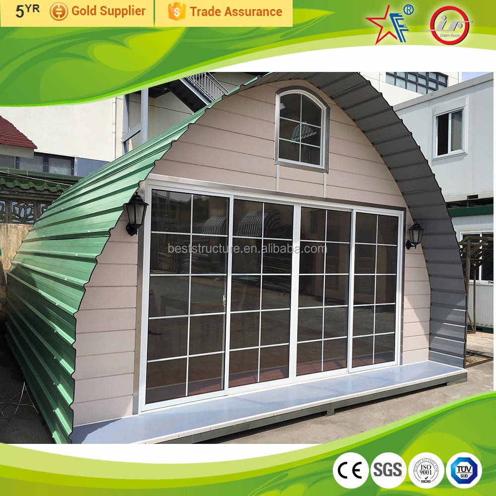 Prefab Panelized Movable Geodesic Dome House/Cabin Kit Kouses for Sale
