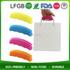 Silicone Bag Handle Covers For Paper Bag / Shopping Bag Hot Handle Holder / Plastic Bag With Carrying Handle
