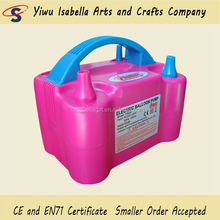 Advertising double mouth electric balloon inflator