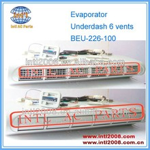 Universal A/C Bus and Van Under Dash underdash AC Evaporator Assembly BEU-226-100 6 Vents 226-100 AIR CONDITIONER BEU-226L-100