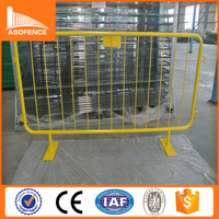 widely used for european market high welded sturdy crowd control barriers