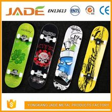 Supreme Wood skateboard deck material mini skate board Fish Skateboard With PU Wheel bone skateboard