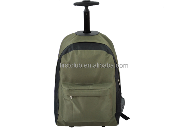 Promotional travel trolley /wheel backpack rucksack