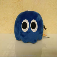 Newest Pixels Toy Pac-man Soft Stuffed Plush Toys 16cm Ghost Plush Doll Toy