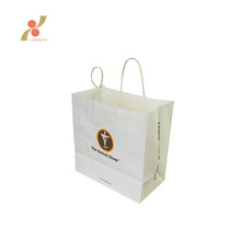 good quality wholesale cheap custom kraft paper shopping gift bag with handle