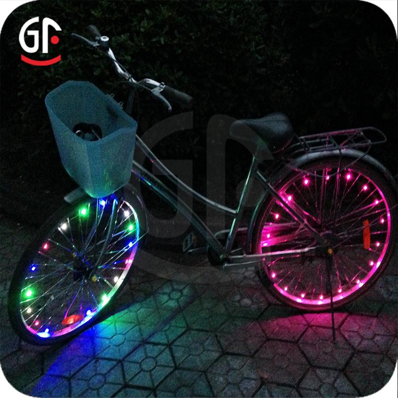 5V 5050 RGB LED Colorful Light Bar Bicycle Bike Tail Light Safety Warning Lamp