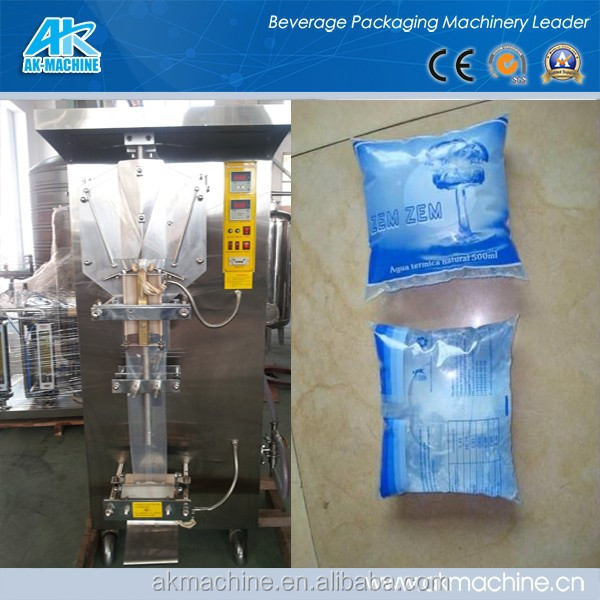 Automatic Sachet Bag Water Packing Machine - Equipped with date printer