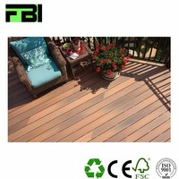 Waterproof Composite Interlocking Wpc Decking Pvc