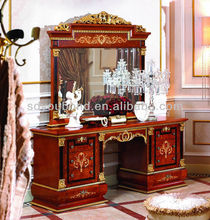0038 antique makeup dressers with mirrors,classic italian dressers