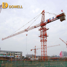 Self-ascending small standard 1-16t tower crane lifting capacity
