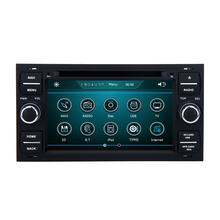 2 din 4 Channel Sub woofer Audio touch Screen Android car gps dvd player for Ford Fusion 2006 2011