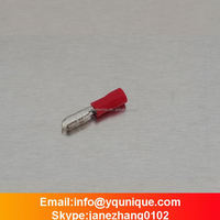 RED MPD1.25-156 22-16A.W.G bullet shaped male pre-insulating terminal