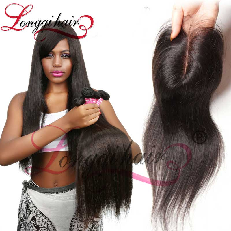 Beijing Hair Natural Color Virgin Hair Bundles With Lace Closure