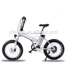 20*4.0inch 250W350W 500W bafang motor kids fat tire folding electric bike/bicycle snow foldable mountain bike