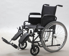 Self Propelled Steel Wheelchair, Foldable and Comfortable (YJ-005L)