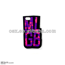 2014 Fashion Vogue MLGB Silicone Case Cover For iPhone 5 5s Wholesale Price