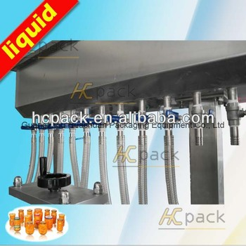 Atmospheric pressure type cooking oil filling machine