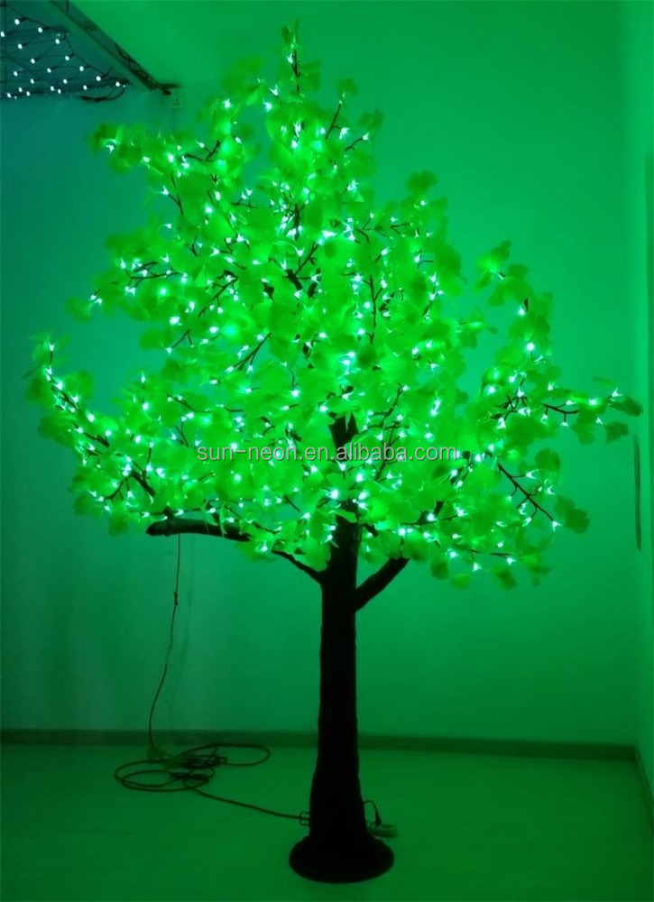 Artificial tree light Cherry Blossom Tree outdoor led tree lights for sale with CE IP65