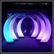 Wholesale factory price outdoor led pillar light inflatable light cone for events led pillar light
