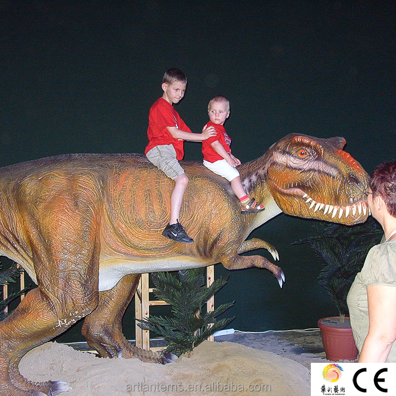 HC14 Amusement Park Animatronic Realistic Dinosaur Game For Kids