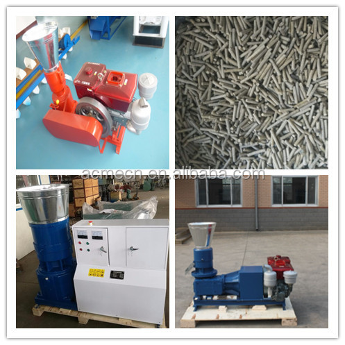 poultry animal cattle pellet feed pellet mill machine