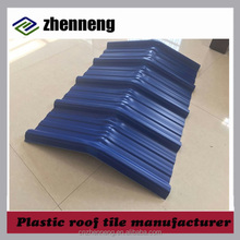 heat insulation corrugated flexible pvc roof tile