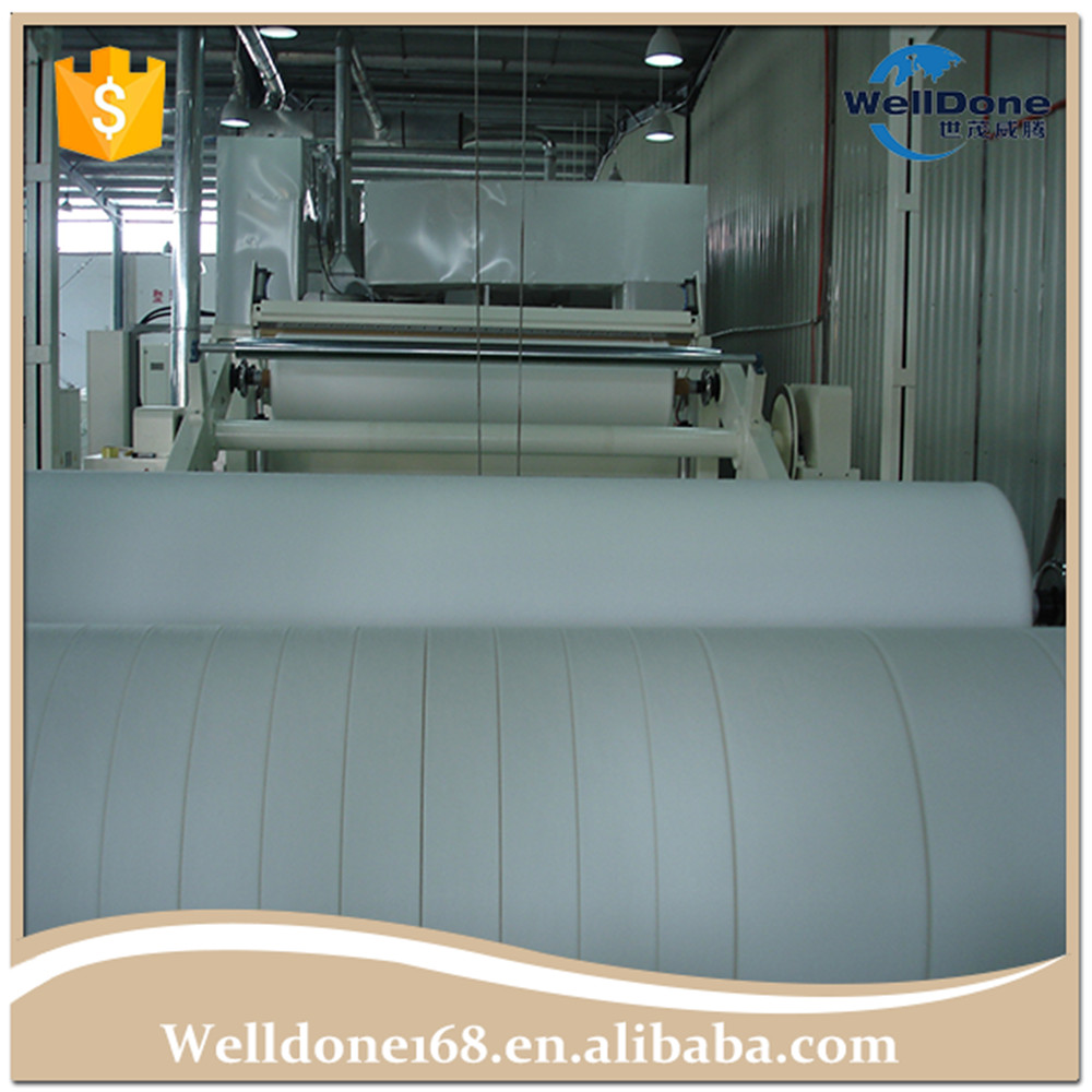 viscose/polyester Parallel Laying spunlace nonwoven for wet wipes