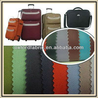 good quality 300D,600D polyester PVC coated oxford fabric for suitcase bag