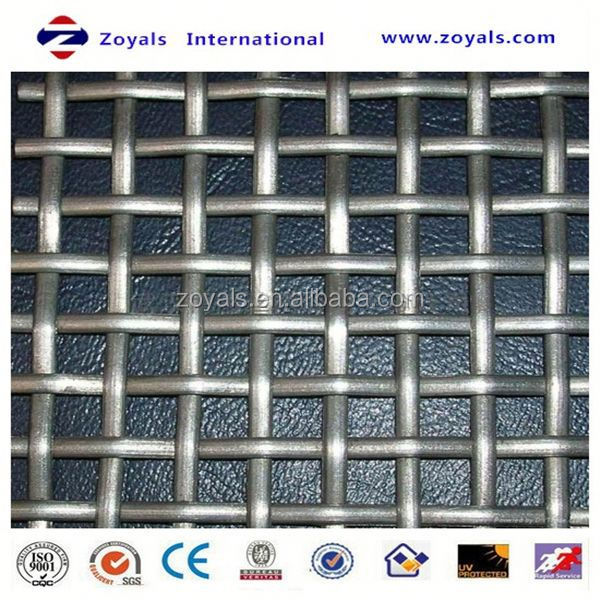fireproof crimped wire mesh Exporter ISO9001