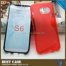 Factory Made Cheap TPU Cover For Samsung Galaxy S6 Ultra Thin Case