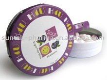 Sour Tablet Press Candy in click clack tin pressed candy in bulk