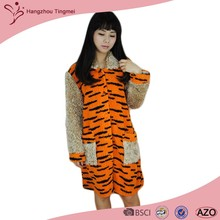 Soft New Arrival Comfortable Orange Bathrobe