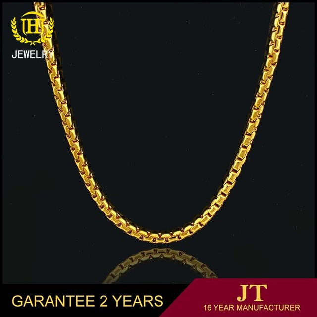 wholesale Fashion jewellery gold necklace and gold chain designs in dubai