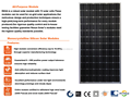 RS5A-M 190W-210W Monocrystalline Solar Panel Price Used in on-grid or off-grid