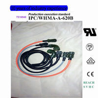 MS3108B-36-3 S 6PIN 90 degrees circular connector The servo wire harness manufacturer