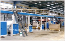 automatic corrugated paperboard making machine